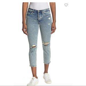 Madison Straight Leg Crop Jeans